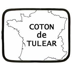 France Outline W Name Netbook Case (large)