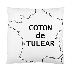 France Outline W Name Standard Cushion Case (two Sides)