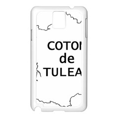 France Outline W Name Samsung Galaxy Note 3 N9005 Case (white)