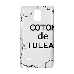 France Outline W Name Samsung Galaxy Note 4 Hardshell Case