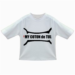 I Love My Coton Dog Bone Infant/toddler T Shirts