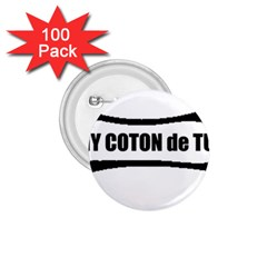 I Love My Coton Dog Bone 1 75  Buttons (100 Pack)