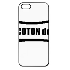 I Love My Coton Dog Bone Apple Iphone 5 Seamless Case (black)