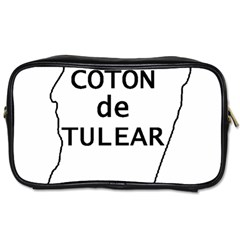 Madagascar Outline With Name Toiletries Bags 2 Side