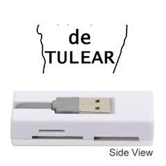 Madagascar Outline With Name Memory Card Reader (stick)
