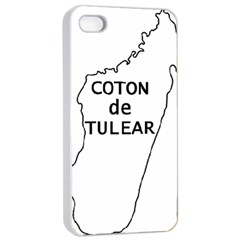Madagascar Outline With Name Apple Iphone 4/4s Seamless Case (white)