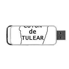 Madagascar Outline With Name Portable Usb Flash (one Side)