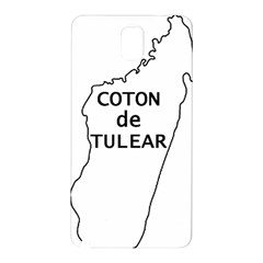 Madagascar Outline With Name Samsung Galaxy Note 3 N9005 Hardshell Back Case
