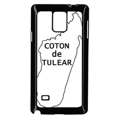 Madagascar Outline With Name Samsung Galaxy Note 4 Case (black)
