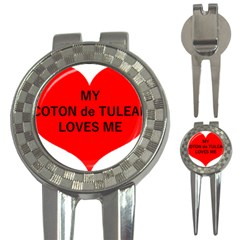 My Coton Loves Me 3 In 1 Golf Divots