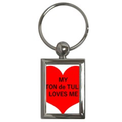 My Coton Loves Me Key Chains (rectangle)