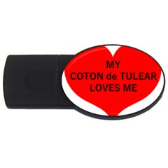 My Coton Loves Me Usb Flash Drive Oval (2 Gb)