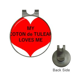 My Coton Loves Me Hat Clips With Golf Markers
