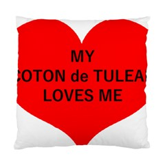 My Coton Loves Me Standard Cushion Case (one Side)