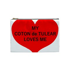 My Coton Loves Me Cosmetic Bag (medium)