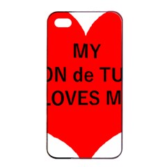 My Coton Loves Me Apple Iphone 4/4s Seamless Case (black)