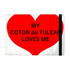 My Coton Loves Me Apple Ipad Mini Flip Case