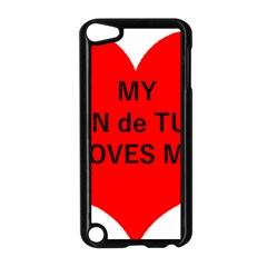 My Coton Loves Me Apple Ipod Touch 5 Case (black)