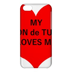 My Coton Loves Me Apple Iphone 5c Hardshell Case