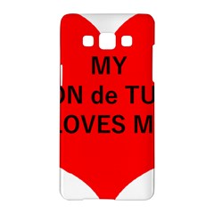 My Coton Loves Me Samsung Galaxy A5 Hardshell Case