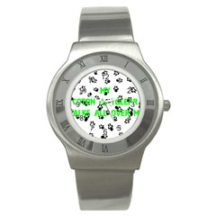 My Coton Walks On Me Stainless Steel Watch