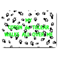 My Coton Walks On Me Large Doormat