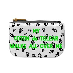 My Coton Walks On Me Mini Coin Purses
