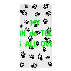 My Coton Walks On Me Shower Curtain 36  X 72  (stall)