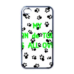 My Coton Walks On Me Apple Iphone 4 Case (black)