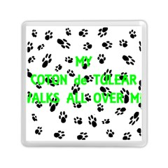 My Coton Walks On Me Memory Card Reader (square)