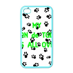 My Coton Walks On Me Apple Iphone 4 Case (color)