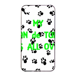 My Coton Walks On Me Apple Iphone 4/4s Seamless Case (black)