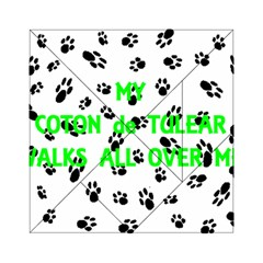 My Coton Walks On Me Acrylic Tangram Puzzle (6  X 6 )