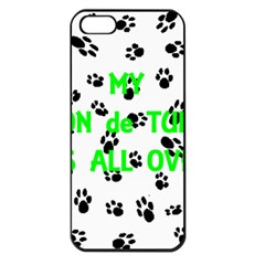 My Coton Walks On Me Apple Iphone 5 Seamless Case (black)
