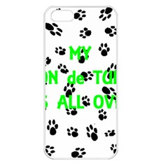 My Coton Walks On Me Apple Iphone 5 Seamless Case (white)