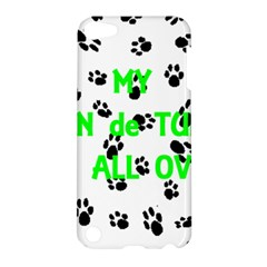 My Coton Walks On Me Apple Ipod Touch 5 Hardshell Case
