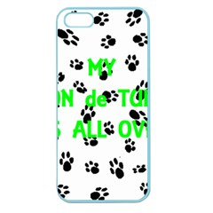 My Coton Walks On Me Apple Seamless Iphone 5 Case (color)