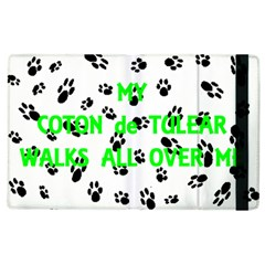 My Coton Walks On Me Apple Ipad 3/4 Flip Case