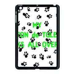 My Coton Walks On Me Apple Ipad Mini Case (black)