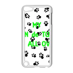 My Coton Walks On Me Apple Ipod Touch 5 Case (white)