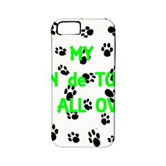 My Coton Walks On Me Apple Iphone 5 Classic Hardshell Case (pc+silicone)