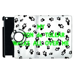 My Coton Walks On Me Apple Ipad 2 Flip 360 Case