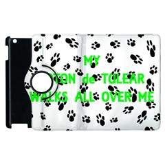 My Coton Walks On Me Apple Ipad 3/4 Flip 360 Case
