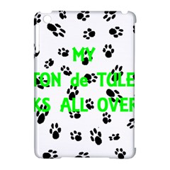 My Coton Walks On Me Apple Ipad Mini Hardshell Case (compatible With Smart Cover)