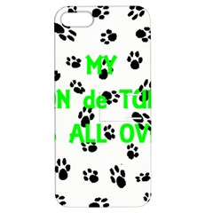 My Coton Walks On Me Apple Iphone 5 Hardshell Case With Stand