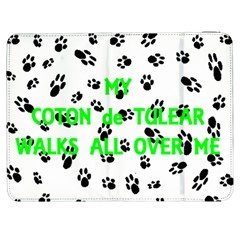 My Coton Walks On Me Samsung Galaxy Tab 7  P1000 Flip Case