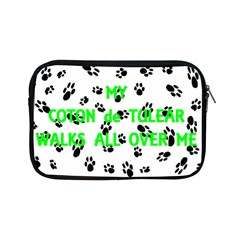 My Coton Walks On Me Apple Ipad Mini Zipper Cases