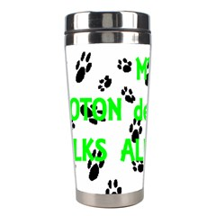 My Coton Walks On Me Stainless Steel Travel Tumblers