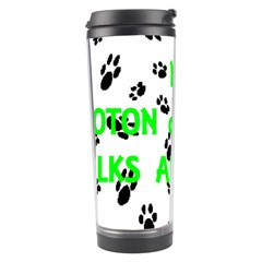 My Coton Walks On Me Travel Tumbler