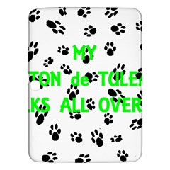 My Coton Walks On Me Samsung Galaxy Tab 3 (10 1 ) P5200 Hardshell Case